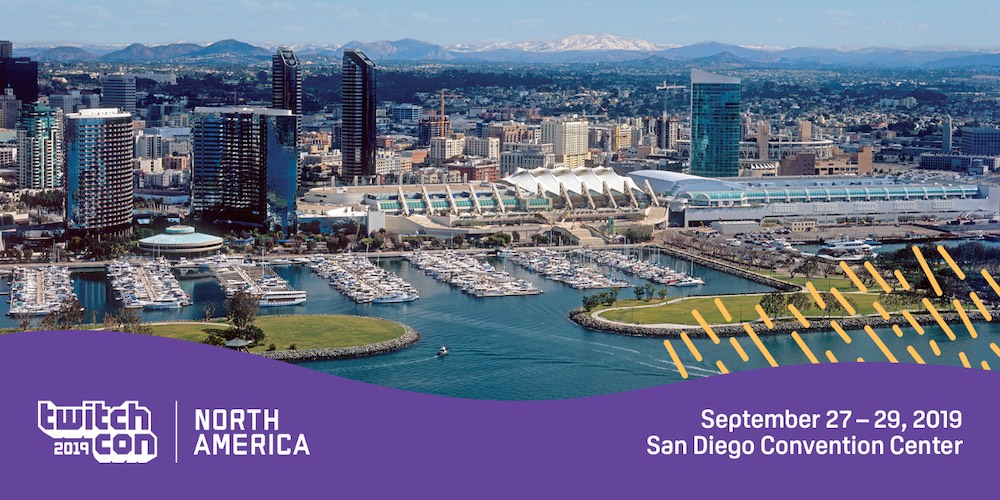 Twitch plans to paint San Diego purple! And we'll be there!