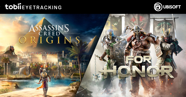 Eye Tracking announced for Ubisoft's Assassin's Creed® Origins and For Honor™