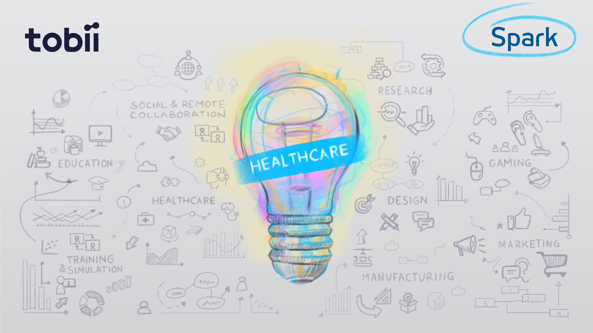 Using VR and eye tracking in healthcare applications